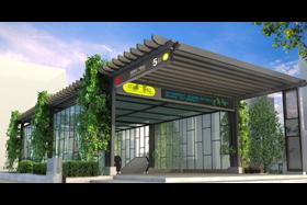 杭州地铁站出入口设计(公共空间设计)