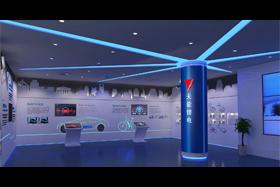浙江天能能源科技有限公司展厅设计方案