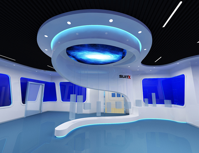 宁波机器人展厅设计方案