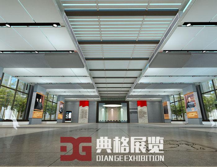 浙江省法纪教育基地展厅