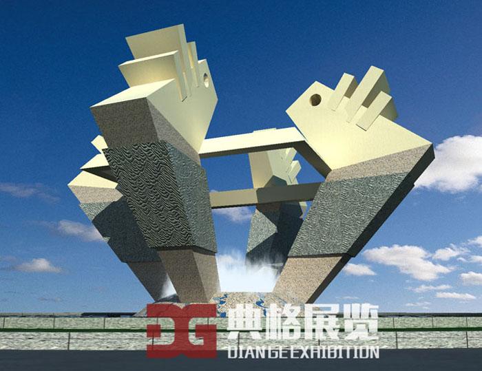 雕塑设计-合