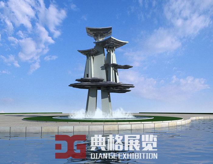 雕塑设计-云间