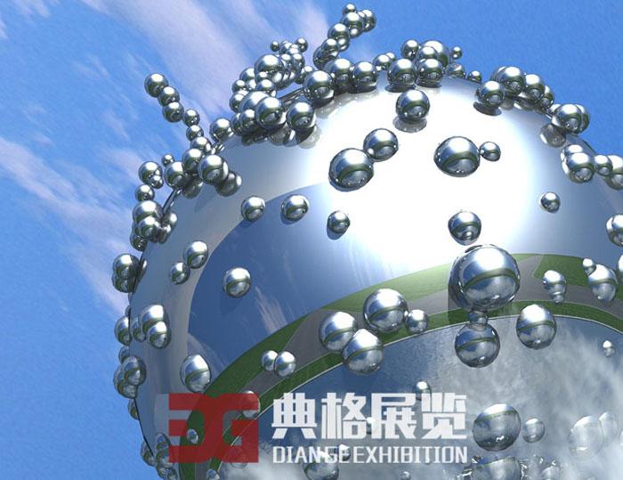 雕塑设计-水滴