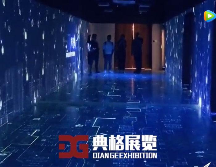 沉浸式影像走廊多媒体展示