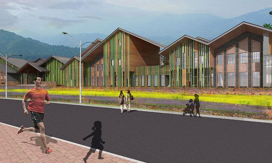 淳安县沿湖商业区建筑方案设计