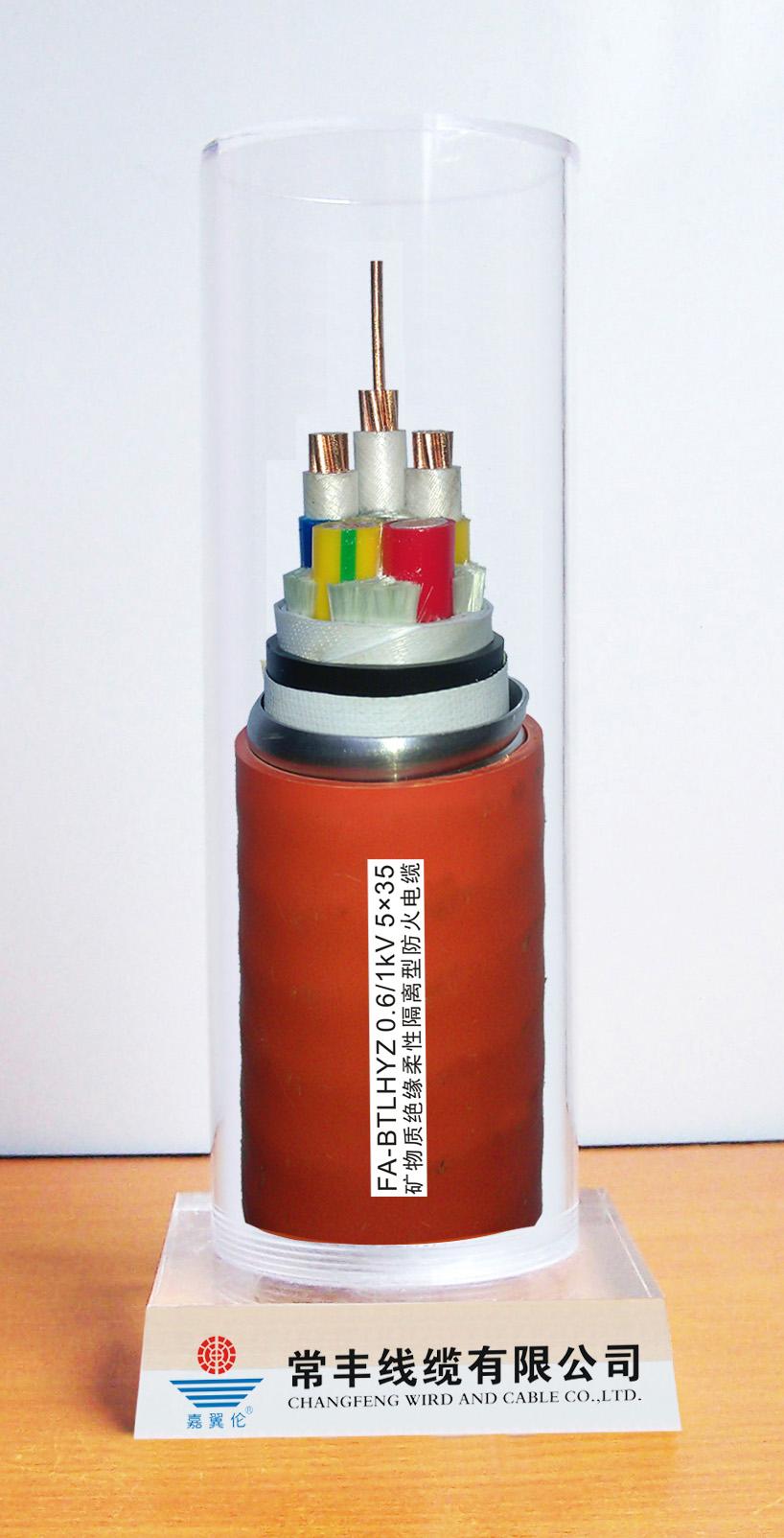 FA-BTGYRZ防火电缆