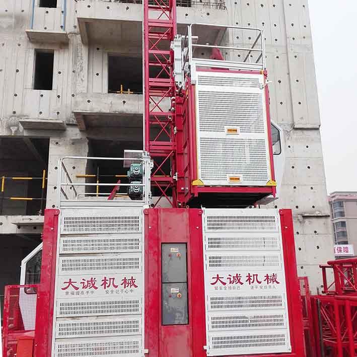 河南施工电梯升降机型号