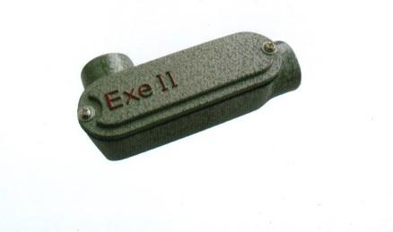 铝合金防爆左弯穿线盒
