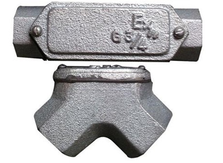 防爆铸铁穿线盒