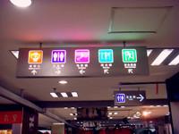 商场标识牌