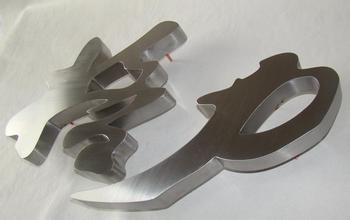 不锈钢精品字