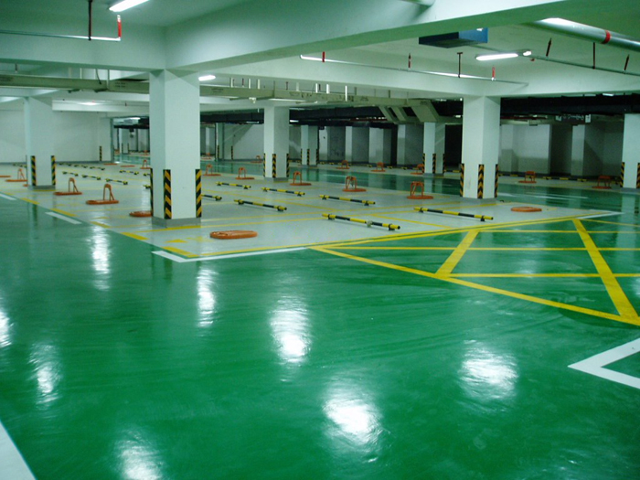 环氧耐磨停车场
