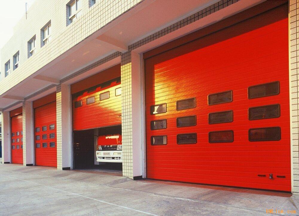 消防专用车库门