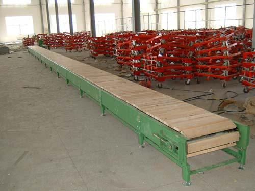 木质链板输送机