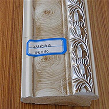 288仿古白喷涂实木线条