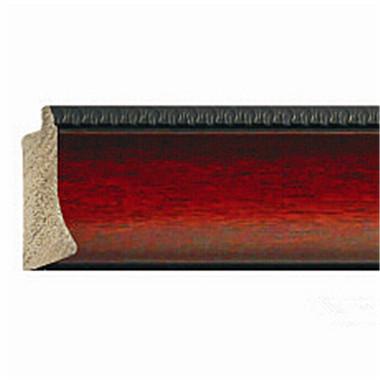 红木纹PS高分子发泡框条