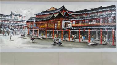 河北省油画作品