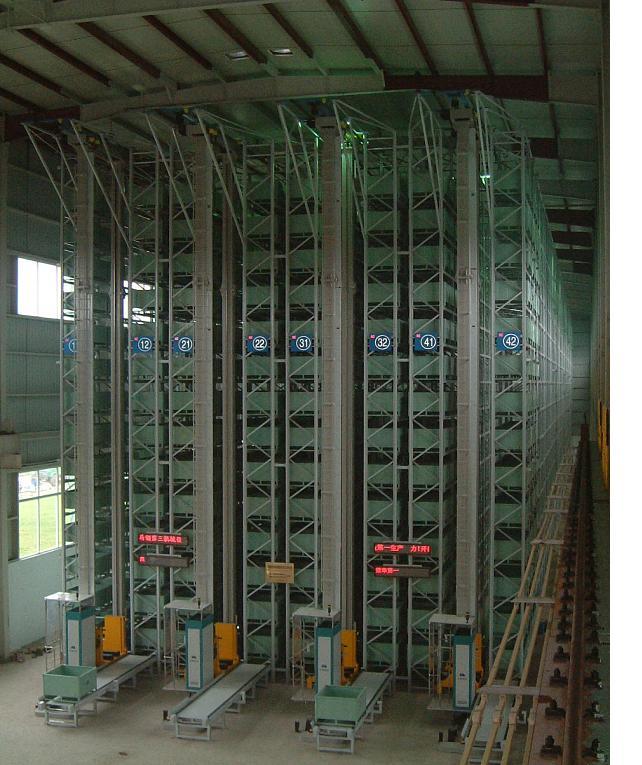 西安货架加工厂仓储货架在机械行业的发展趋势 仓储货架有利于提高入库效率