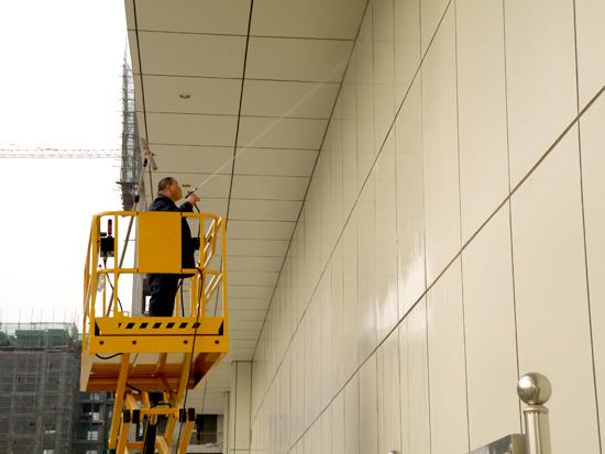 河南物业外墙清洗