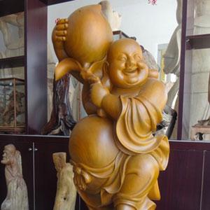 定制木雕佛神像