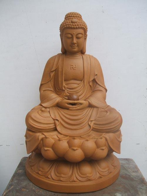 河南木雕佛像