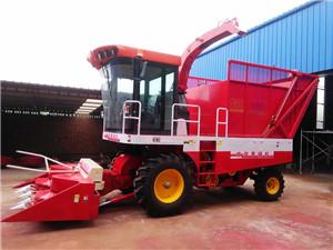 小麦秸秆青储机