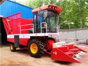 改装新型玉米秸秆收获机