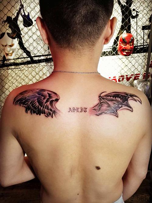 昆明翅膀纹身