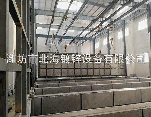 新型环保数字化热镀锌生产线