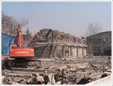 貴陽建筑物拆除