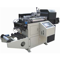 ZHSYJ-300型全自动卷状标签丝网印刷机