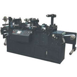ZHTJASLM-III型双座全自动烫金模切机