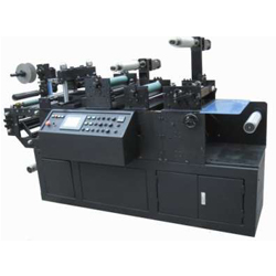 ZHTJASLM-II型单全自动烫金模切机