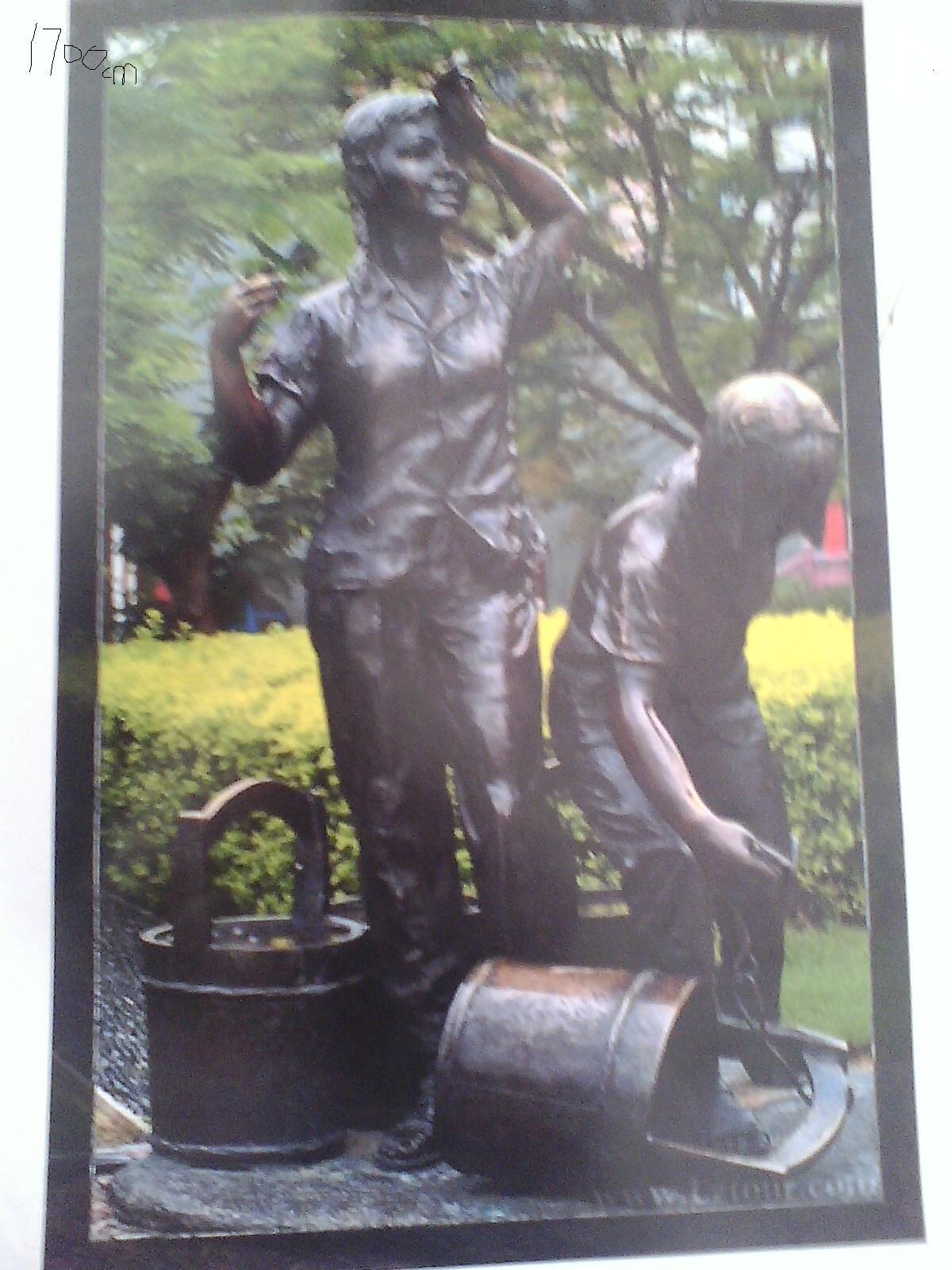 山西锻铜雕塑