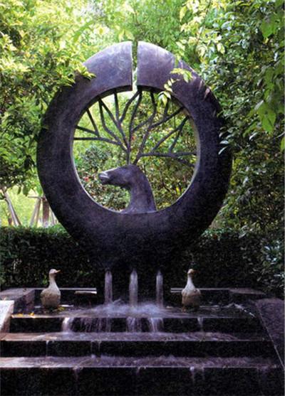景观锻铜雕塑