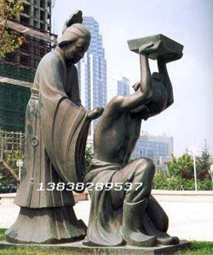 河南山西现代人物雕塑