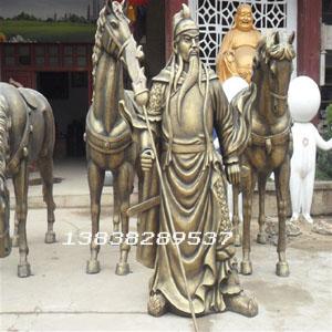 郑州古代人物雕塑