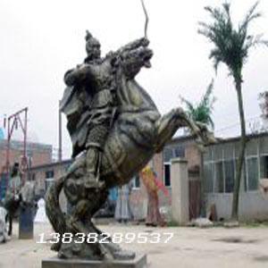 河南人物锻铜雕塑
