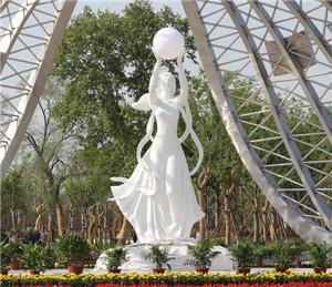 开封玻璃钢校园雕塑