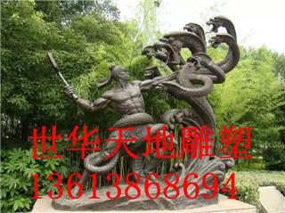 开封城市锻铜雕塑