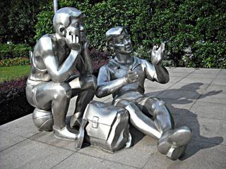 信阳不锈钢雕塑厂家