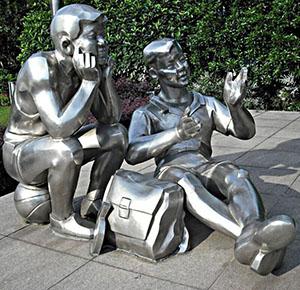 郑州不锈钢雕塑工厂