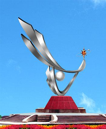 郑州不锈钢雕塑制作厂家