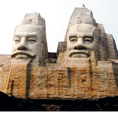 著名的郑州人物雕塑