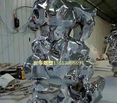 镜面抽象假山石的材料