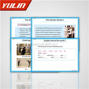 高中英语教学投影片