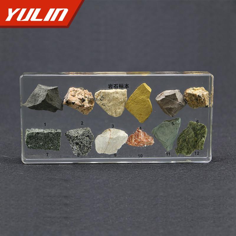 岩石包埋标本