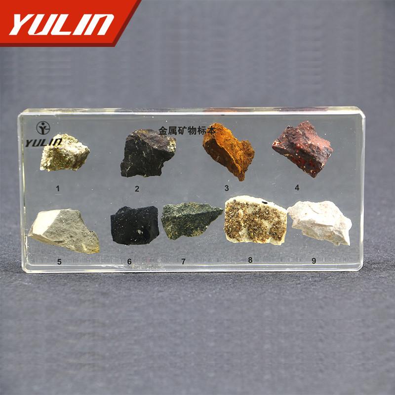 金属矿物包埋标本