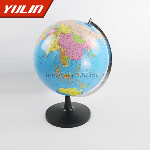 平面政区地球仪