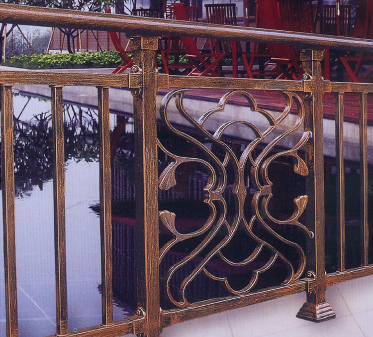 昆明锌钢阳台护栏